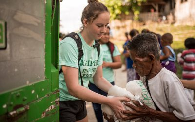 Aktion Reissack – Aus Sicht einer Freiwilligen