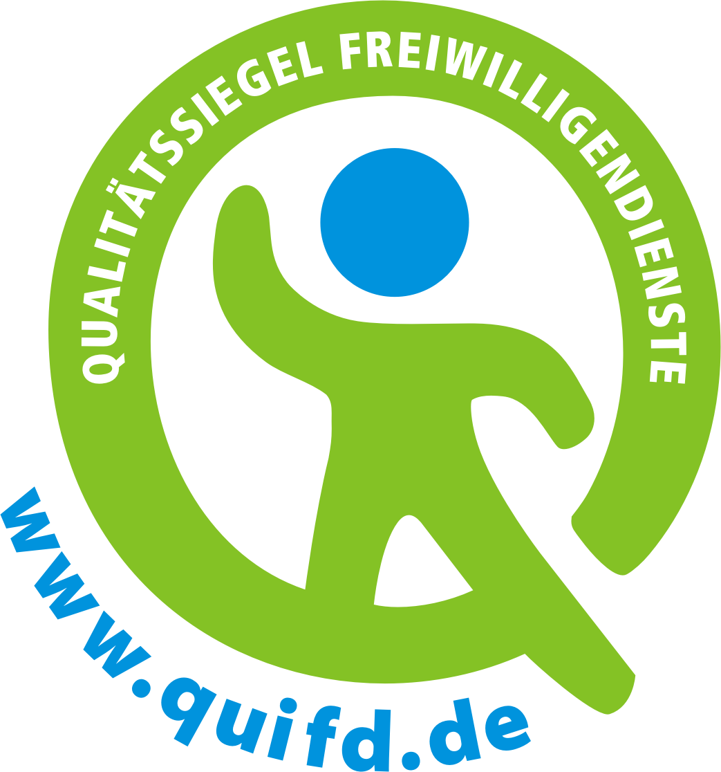 QualitÑts Siegel - Werde Volunteer