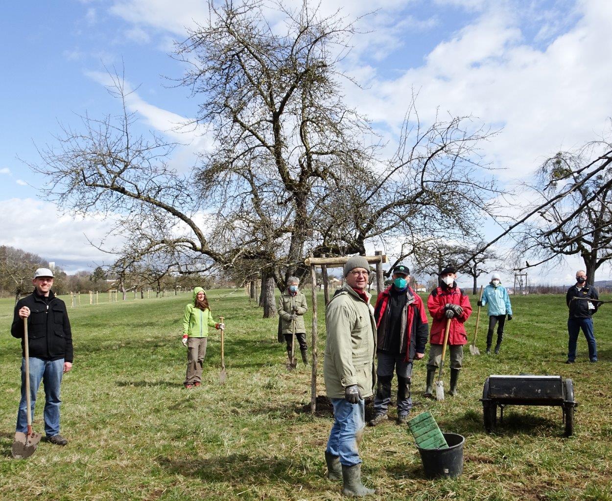 DSC01725b - Bäume pflanzen für die Enkel